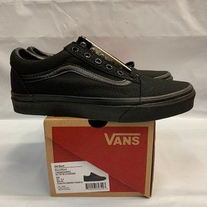 Vans Old Skool Mens Womens All Black Shoes